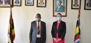 Hon. Minister of Justice meets Netherlands Ambassador to Uganda