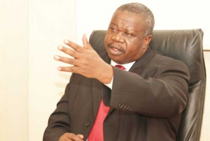 The minister of Justice and Constitutonal Affairs, Hon. Kahinda Otafiire (PHOTO: JLOS)