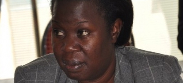 Ms Josephine Onya Wasike, the Under-Secretary Ministry of  Internal Affairs is the newly elected Chairperson of the JLOS Technical Committee (Photo: JLOS Media)
