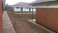 One of the buildings at the newly constructed Ibanda Justice Centre in Ibanda district (PHOTO: JLOS)