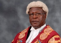 Justice Bart M. Katurebe, the Chief Justice of the Republic of Uganda (PHOTO: Judiciary)