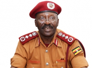 Dr. Johnson Byabashaija, the Commissioner General, Uganda Prisons Services (PHOTO: The Independent)