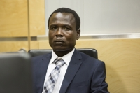 Dominic Ongwen, a former child soldier turned senior commander of the Lord's Resistance Army (LRA), at the International Criminal Court (Source: ICC)