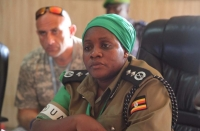 CP Christine Alalo (PHOTO: Uganda Police / AMISOM)