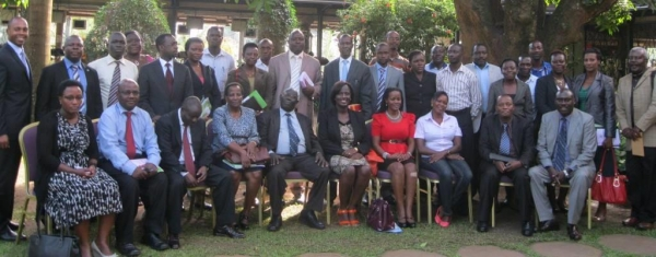 Participants at the JLOS anti-corruption capacity building workshop held on September 12 2014 (PHOTO: JLOS)