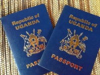 Uganda Ordinary passport (PHOTO: DCIC)