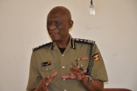 IGP J.M Okoth Ochola at the 3rd Annual CIID Retreat on July 1 2019 (PHOTO: Uganda Police)